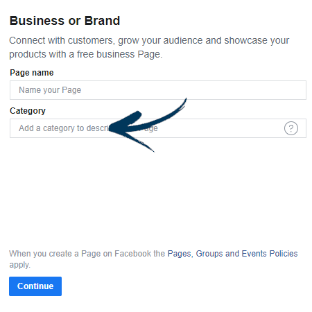 Business or Brand Page