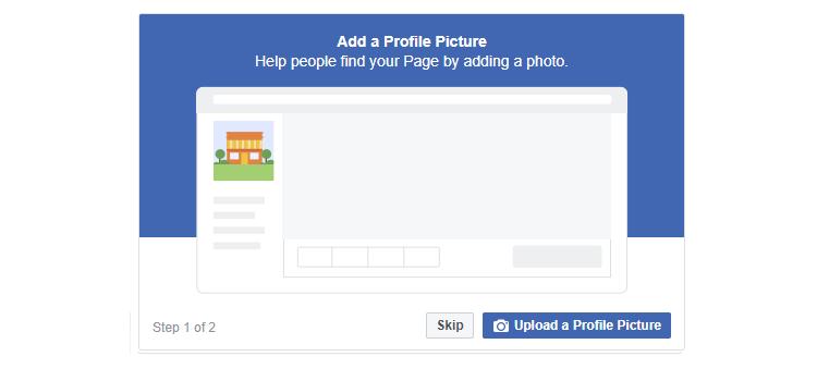 Add business profile photo